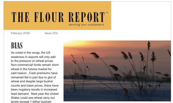 February 2016 flour.com The Flour Report