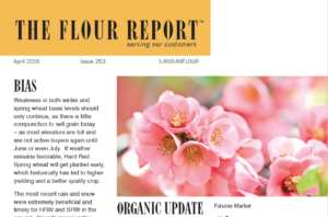 The Flour Report April Flowers